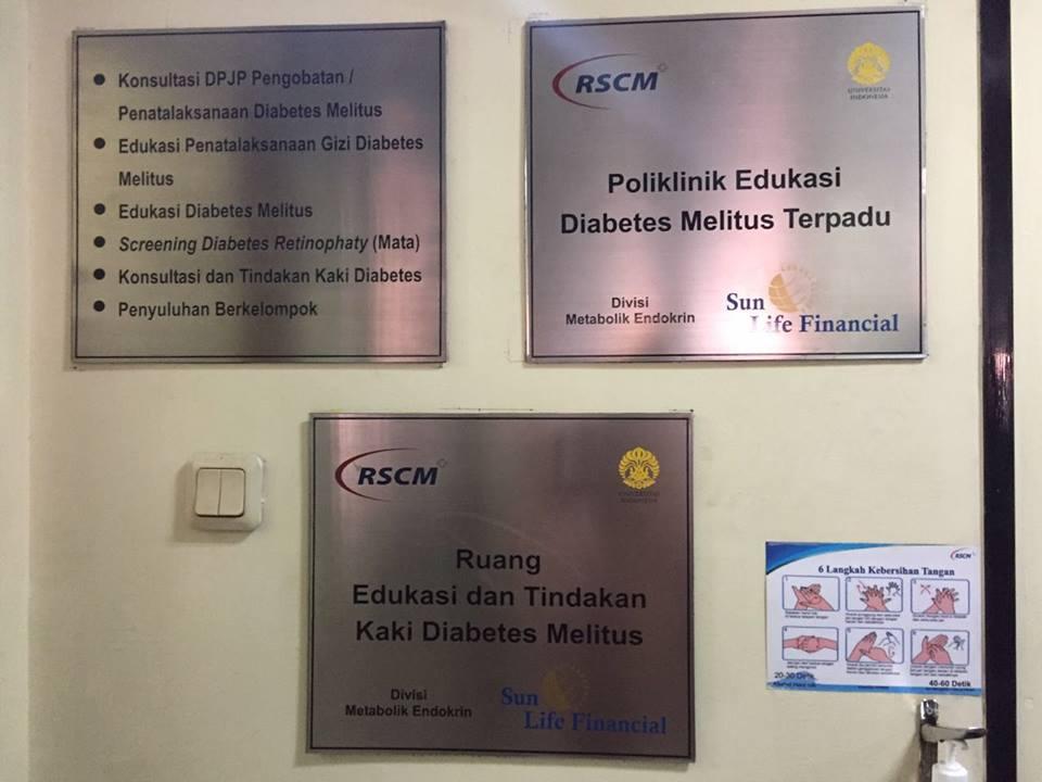 Poliklinik Edukasi Diabetes RSCM - Sun Life Financial Indonesia