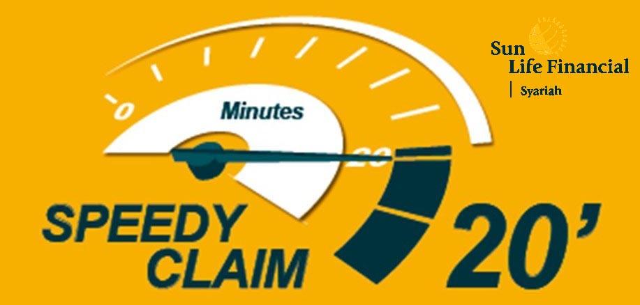 Speedy Claim 20 Menit-sun life