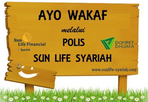 wakaf sun life - dom[et dhuafa
